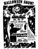 BEN BOLT HALLOWEEN 1955