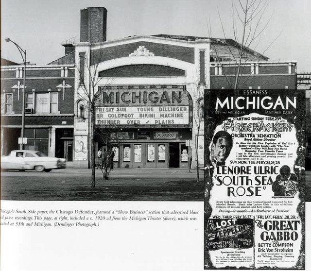 MICHIGAN Theatre; Chicago, Illinois.