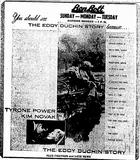 EDDY DUCHIN STORY 10-12-56