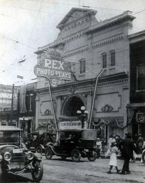 REX (RACINE) Theatre; Racine, Wisconsin.