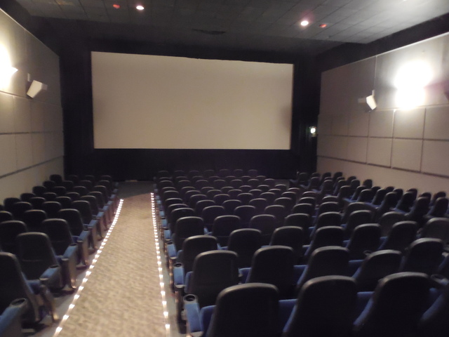 10-2-14 Auditorium A, the largest, 200 seats