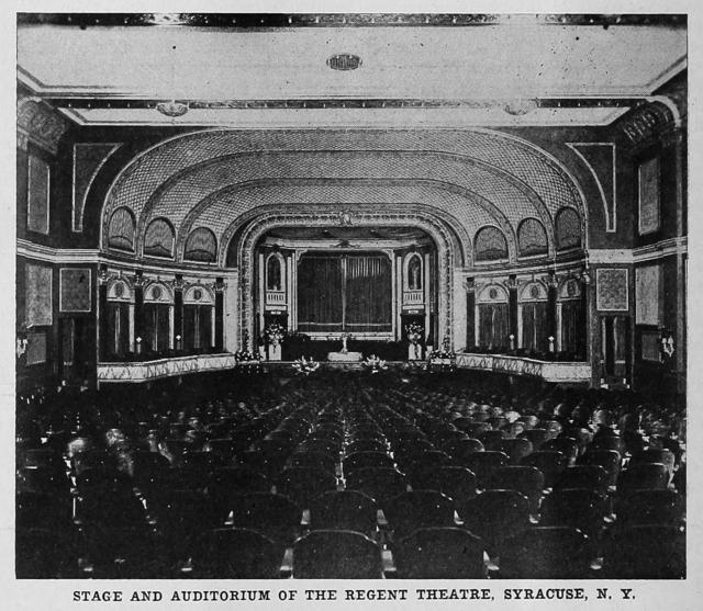Regent Theatre, Syracuse.  1914.