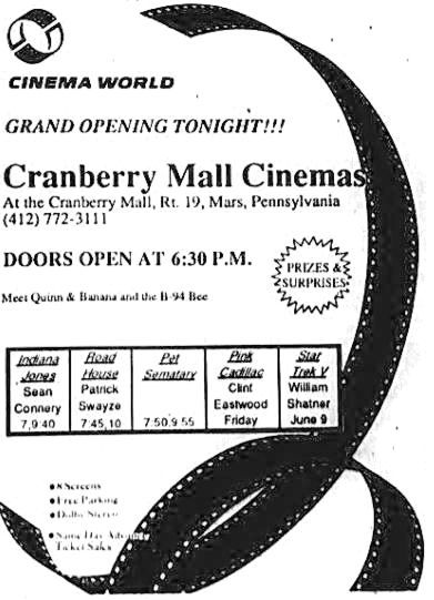 May 24th, 1989 grand opening ad