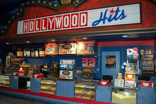 Hollywood Hits Concession Stand