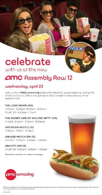 AMC Assembly Row 12