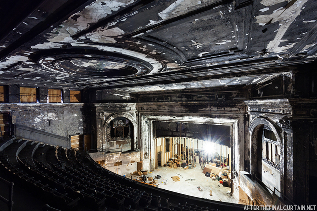 Franklin Park Theatre Post Fire