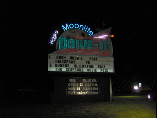 Higgins Moonlite Drive-In