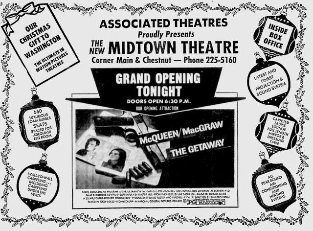 December 22nd, 1972 grand opening ad as Midtown
