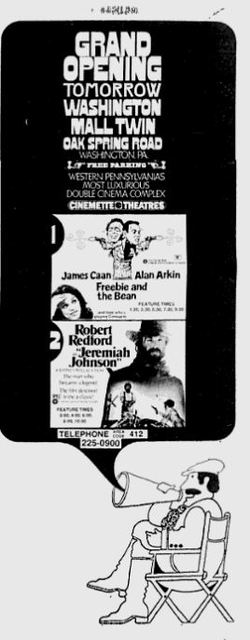 December 24th, 1974 grand opening ad