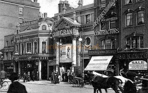 The third Grand Theatre, 40 Islington High Street, Islington in 1903