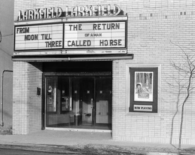 Larkfield Theatre - Winter 1976 - daytime