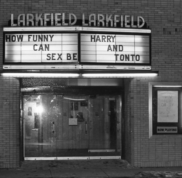 Larkfield Theatre - 1976 - night