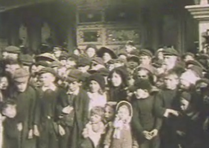 Children outside Vaudeville