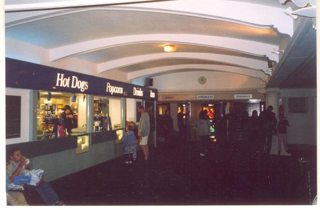 Odeon Colchester main lobby