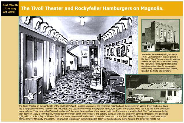 The Tivoli Theater (years after it closed)