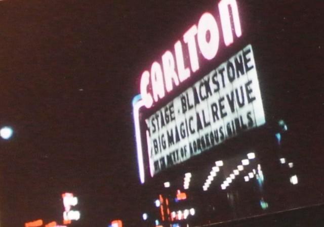 Carlton Marquee - BLACKSTONE the magician