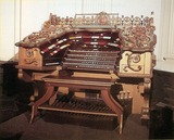 <p>Original organ might be reinstalled someday.</p>
