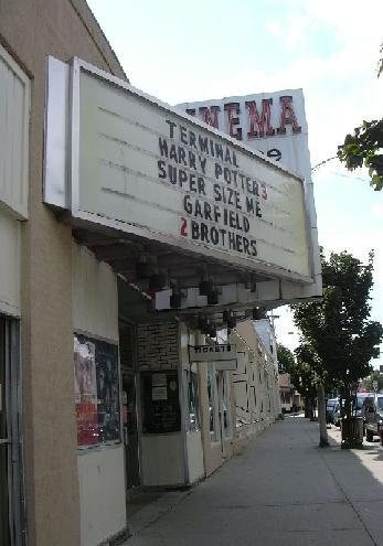 daytime marquee