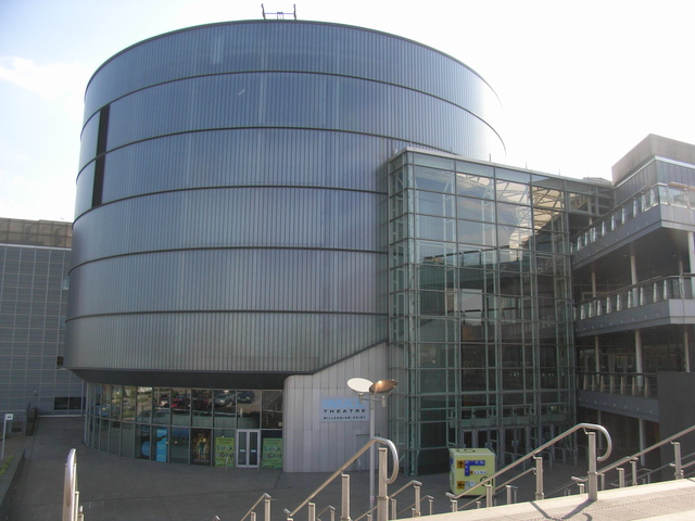 Birmingham IMAX at Millennium Point in April 2007