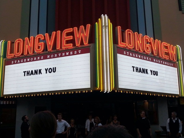 Our New Marquee!  August 2014