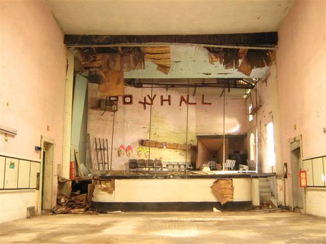 Roxy cinema from inside
