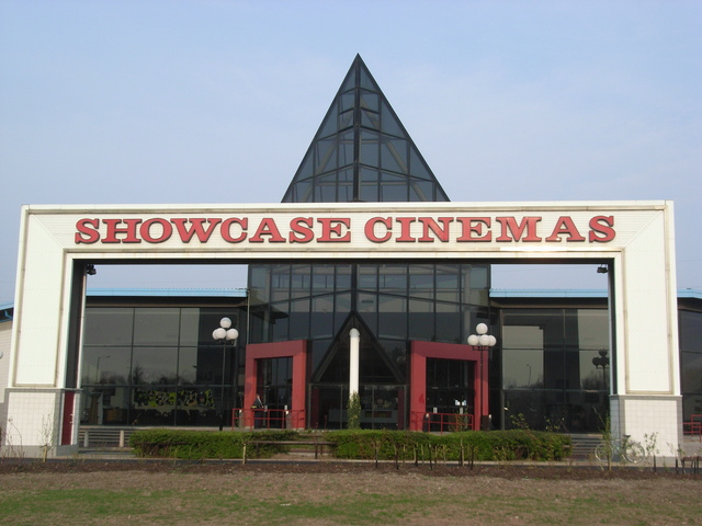 The front of the Showcase
