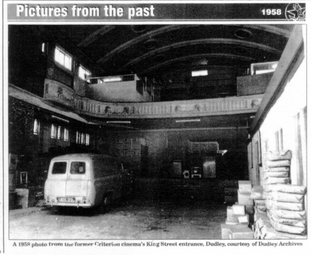 A picture of the auditorium in 1958