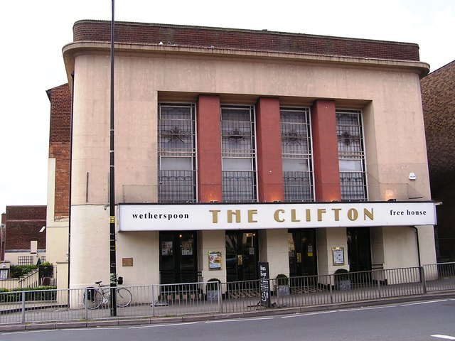 The Clifton as a Wetherspoons pub in May 2006