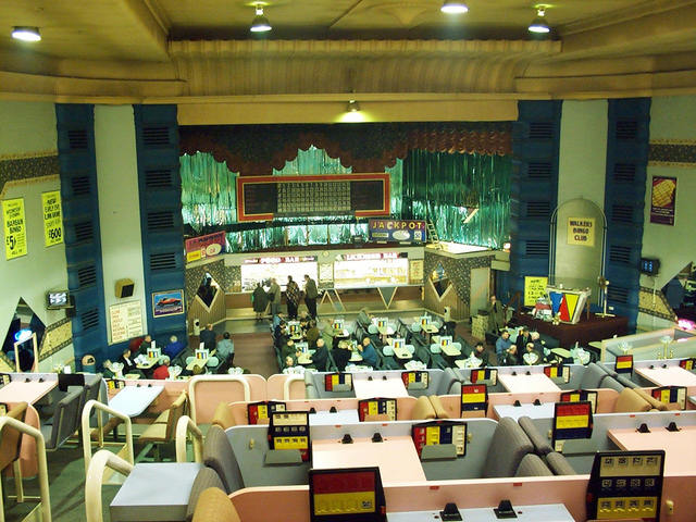 The interior in April 2000
