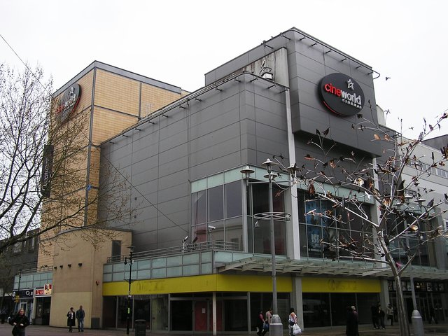 The Empire as the Cineworld in April 2006