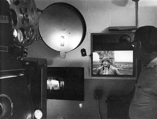 Projectionist Booth 7-17-70