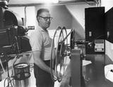 UA Cinema 150 projectionist booth 7-17-70