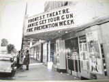 Front St. Theatre marquee