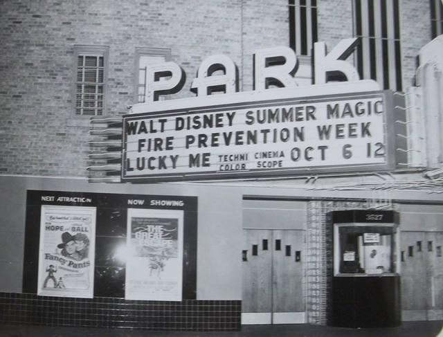Park Theatre marquee