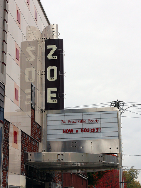 Zoe Theatre, Pittsfield, IL