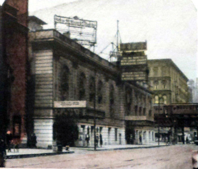 SELWYN and HARRIS (CINESTAGE) Theatres; Chicago, Illinois.