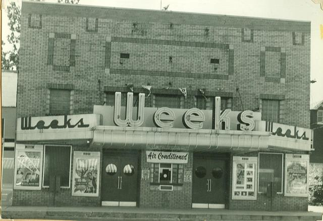 Weeks theater 1950