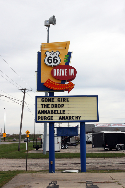 Route 66 Drive In Theater Springfield Il
