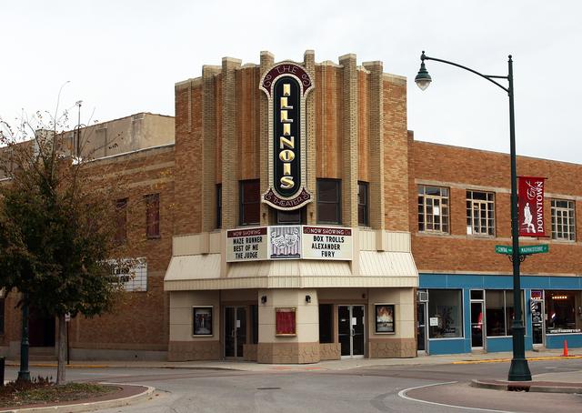 Illinois Theatre, Jacksonville, IL
