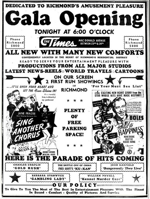 Times Theatre Grand Opening