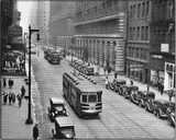 Apollo Theatre on the left in this 1930 photo courtesy of the CTA.