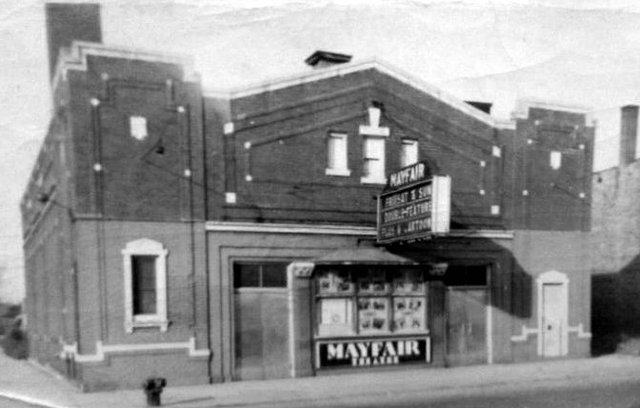 MAYFAIR (MAJESTIC MIDWAY) Theatre; Chicago, Illinois.