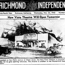 Vista Theatre Grand Opening