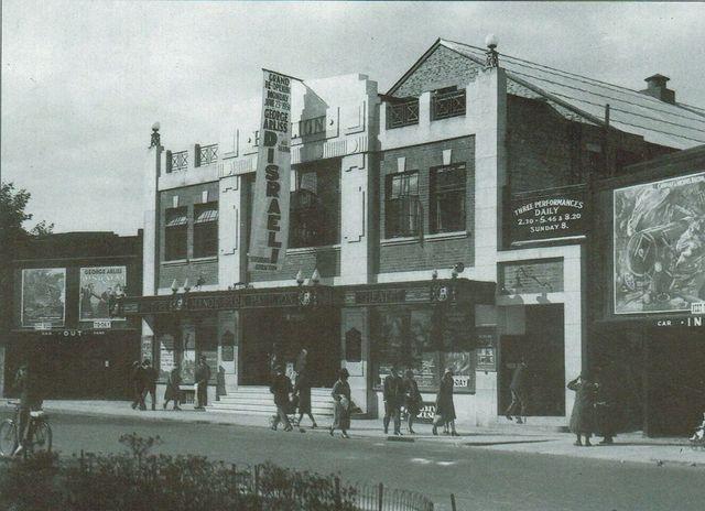 Gala re-opening 1930