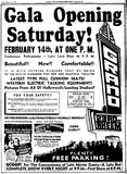 Grand Theatre Grand Opening 1942