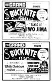 Grand Theatre Ads 1954