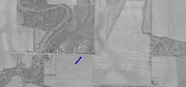 Aerial photo 1959, courtesy of USGS Earth Explorer
