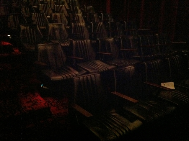 The seats in Cinema 5