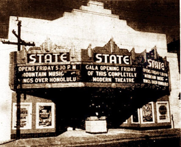 State Theatre Opening 1938