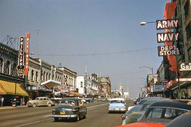 Circa 1955 photo courtesy of AmeriCar The Beautiful Facebook page.